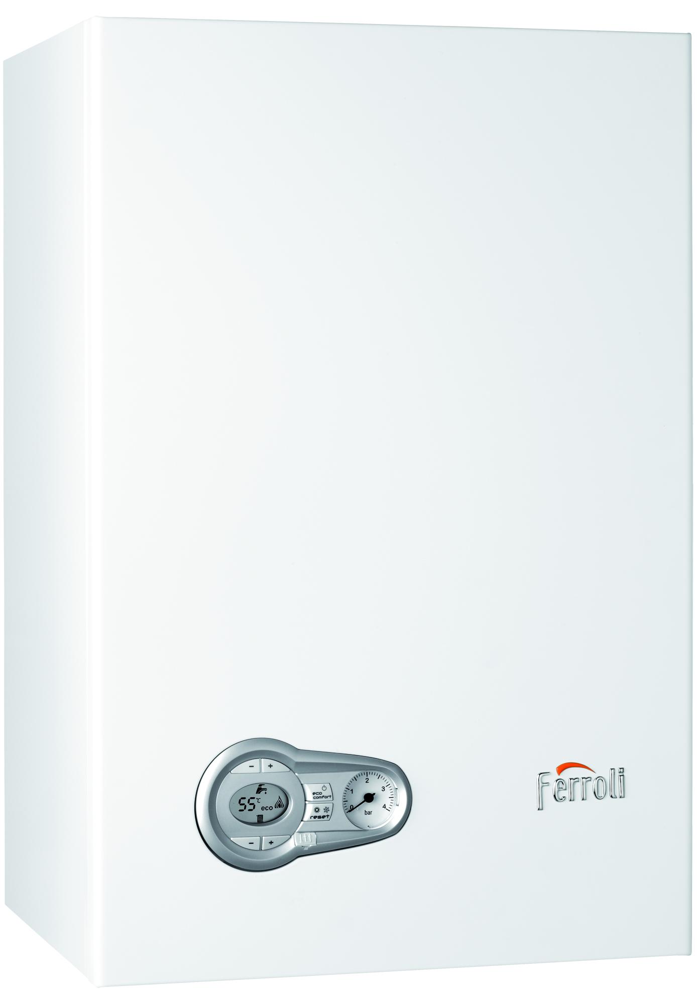 Calderas de gas Ferroli de condensación para Calefacción y Agua Caliente Sanitaria BLUE HELIX PRO