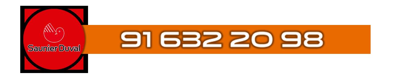 Teléfono Servicio Tecnico oficial de calderas Saunier Duval