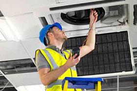 reparación aire acondicionado comercial en Móstoles