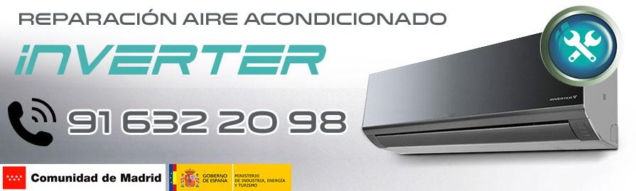 reparación aire acondicionado Inverter en Alcorcón