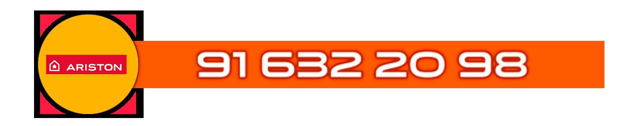 Teléfono Servicio Técnico certificado de calderas Ariston en Madrid