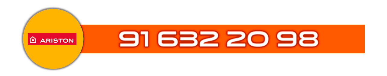 Teléfono Servicio Técnico certificado de calderas Ariston en Leganés