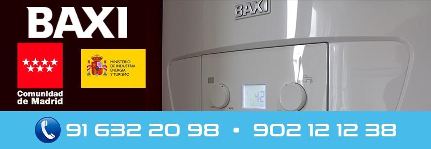 servicio técnico calderas Baxi en Fuenlabrada