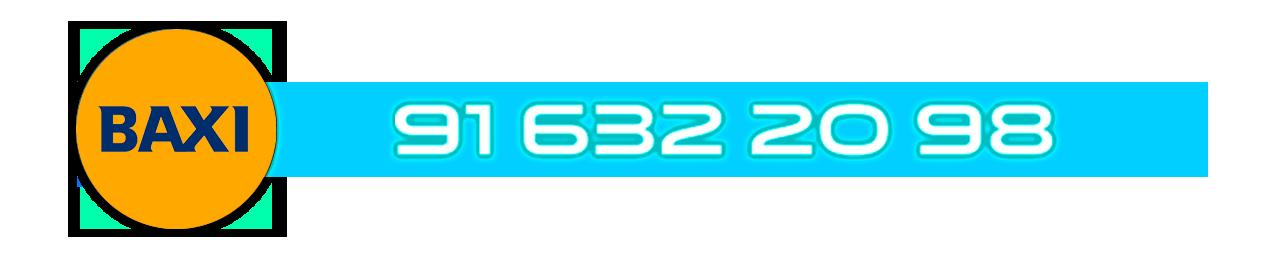 Teléfono Servicio Técnico certificado de calderas Baxi en Leganés